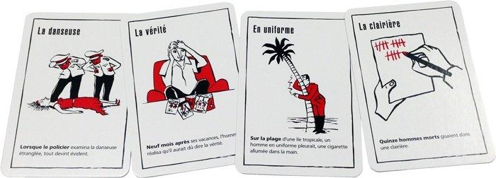 Black Stories - Cartes pour jouer en voiture