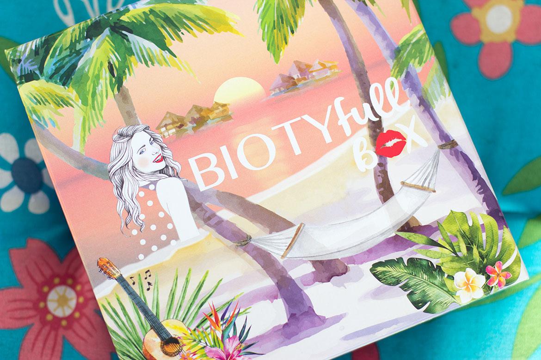 Biotyfull Box Juin 2019 - La Tropicale couverture