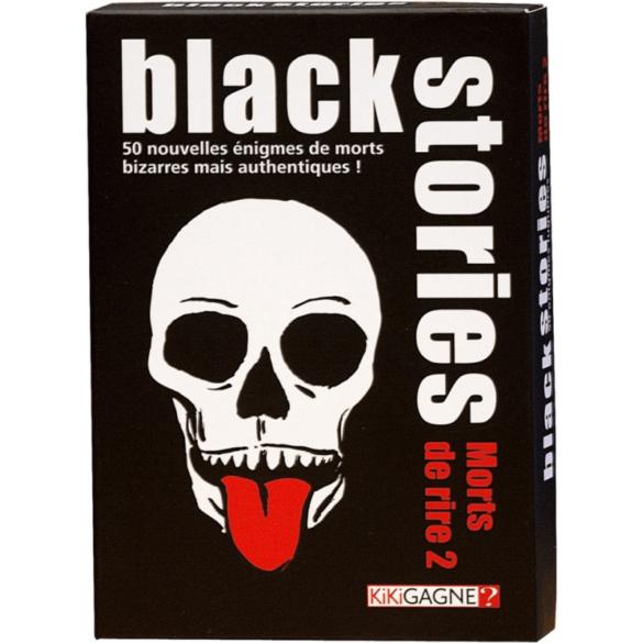 Black Stories - Mort de Rire pour jouer en voiture