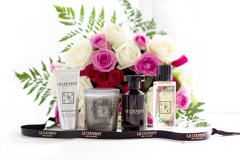 Produits Le Couvent des Minimes - parfums et soins et fleurs