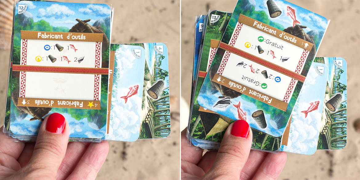 Palm island jeu carte exemple