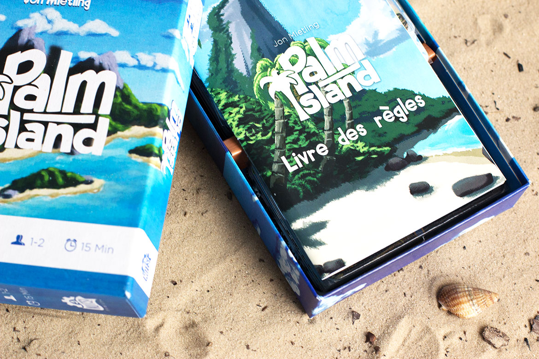 Palm Island Jeu livret de règles