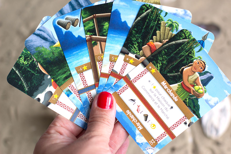 Palm Island cartes villageois