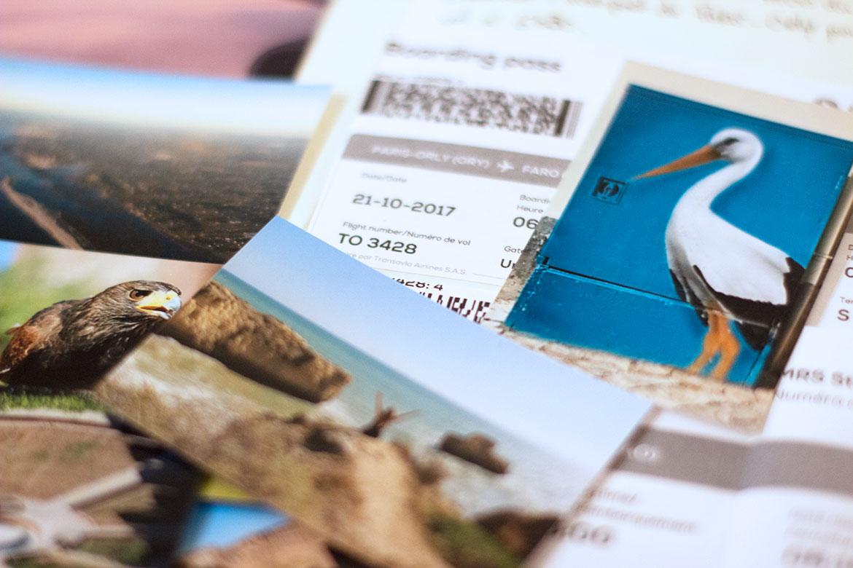 Photos Fujifilm 6x9cm pour carnet de voyage