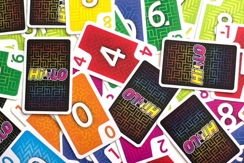 cartes du jeu Hilo