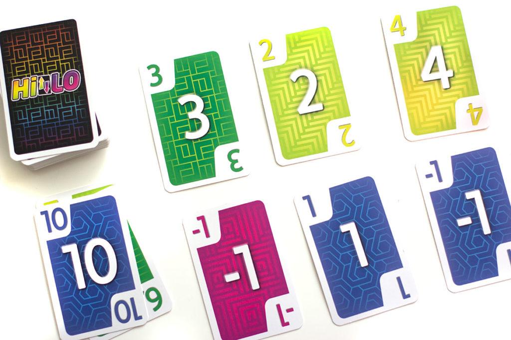 grille de cartes points de fin de manche