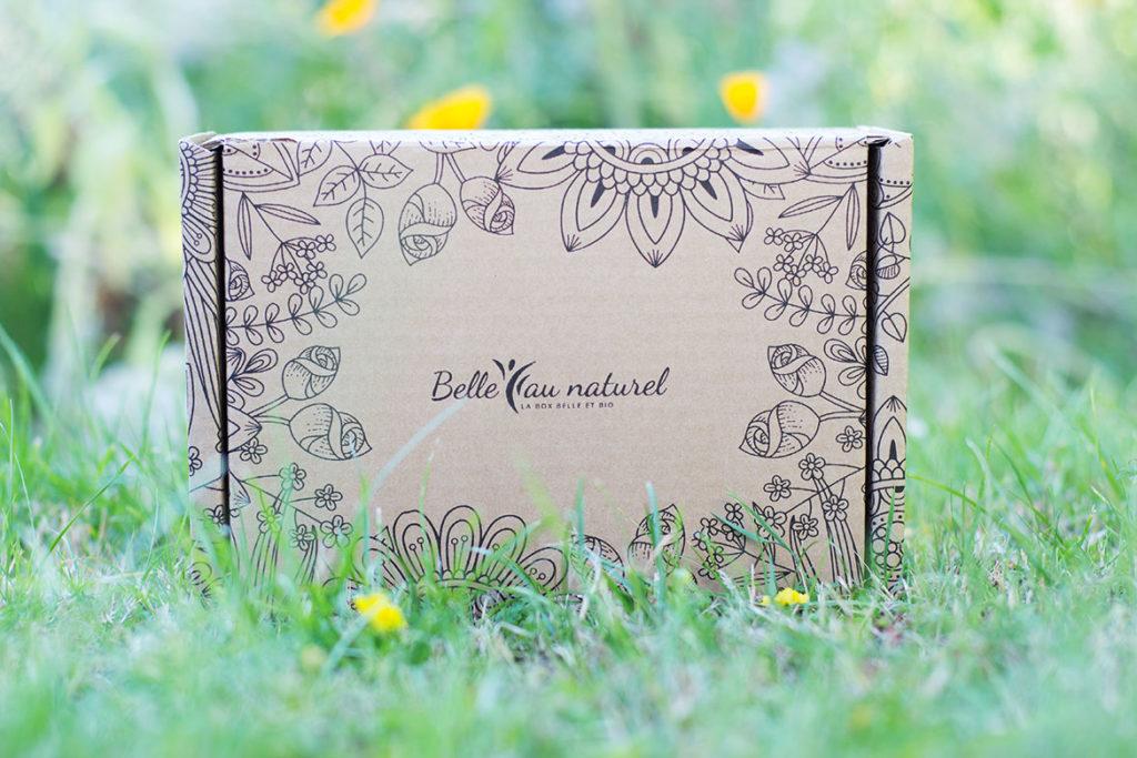 Belle au naturel - box beauté bio Juillet 2020