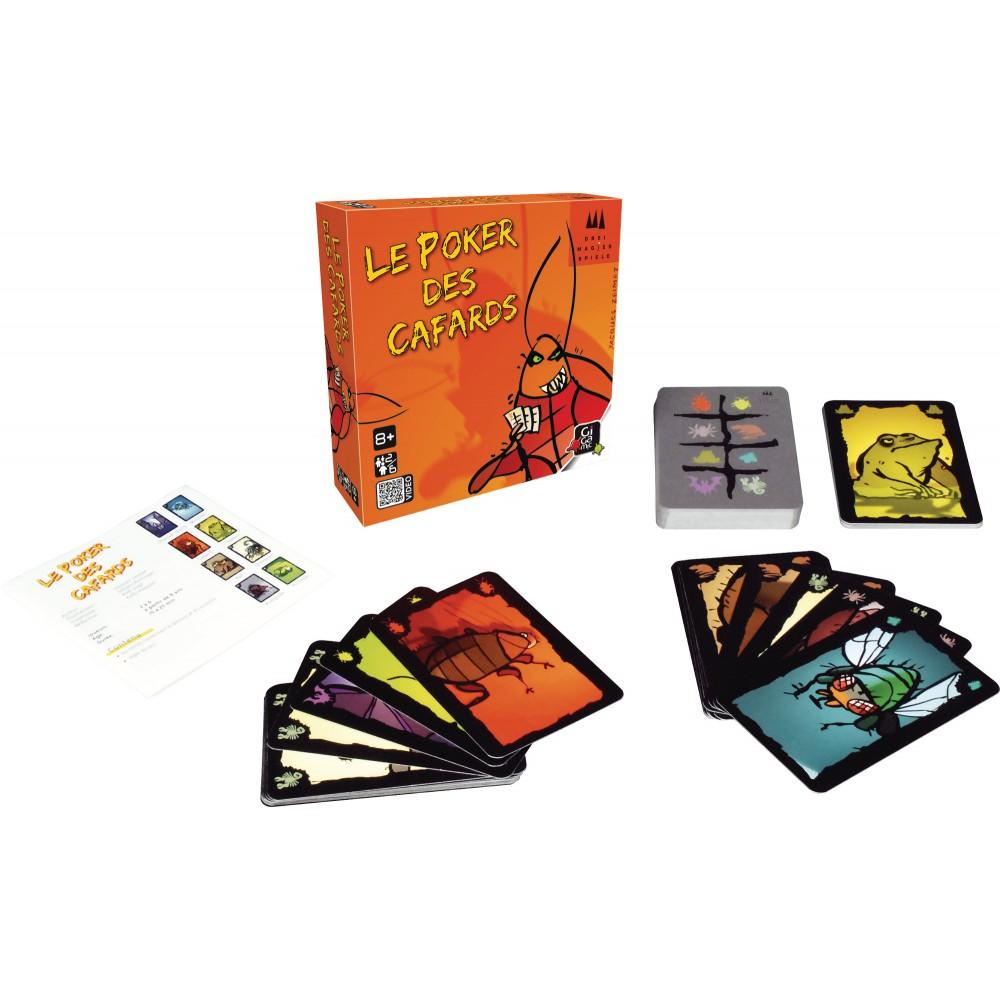 Jeux d'ambiance poker des cafards