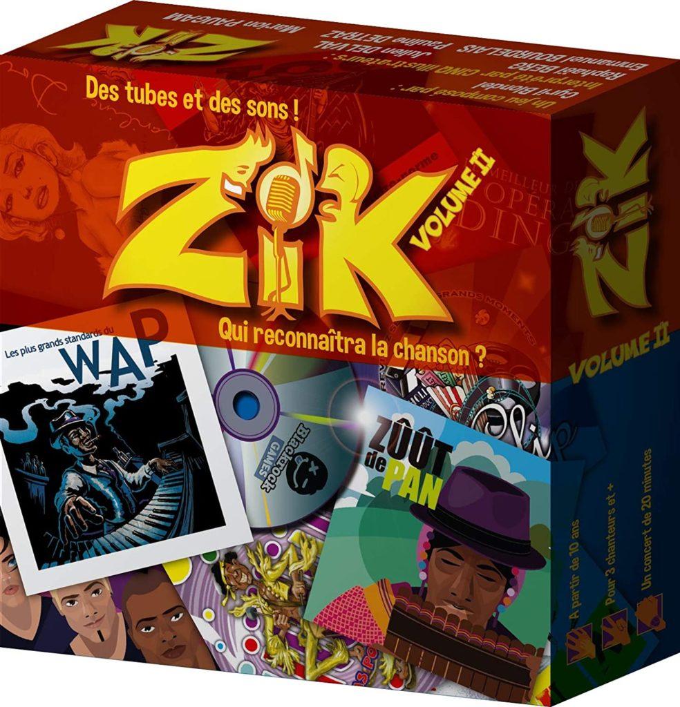 Jeux d'ambiance musical Zik