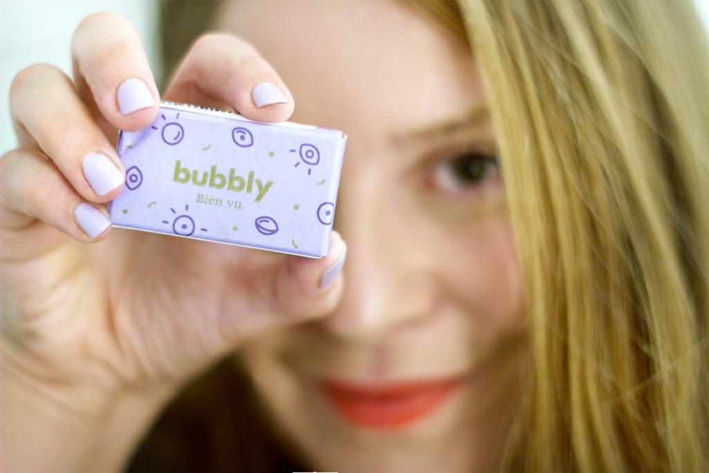Lentilles de contact Bubbly - myopie