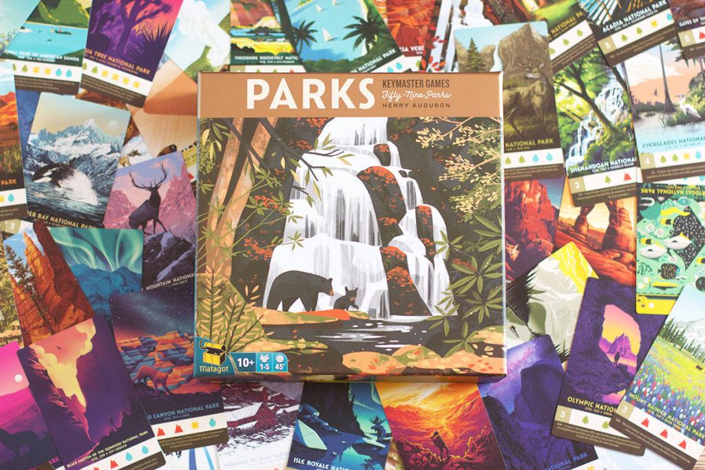 Parks jeu de société