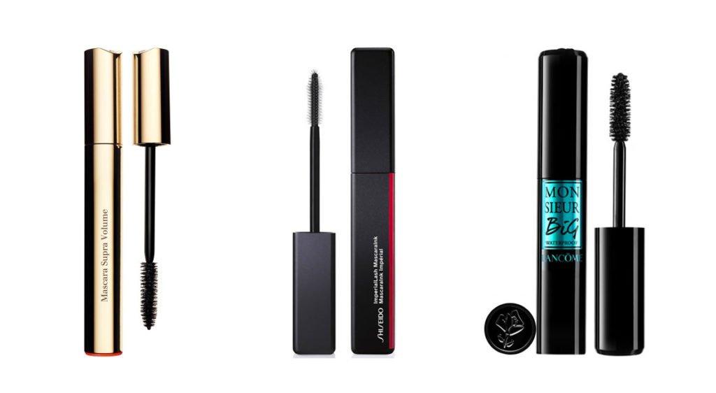 Mascaras Clarins, Shiseido et Lancôme