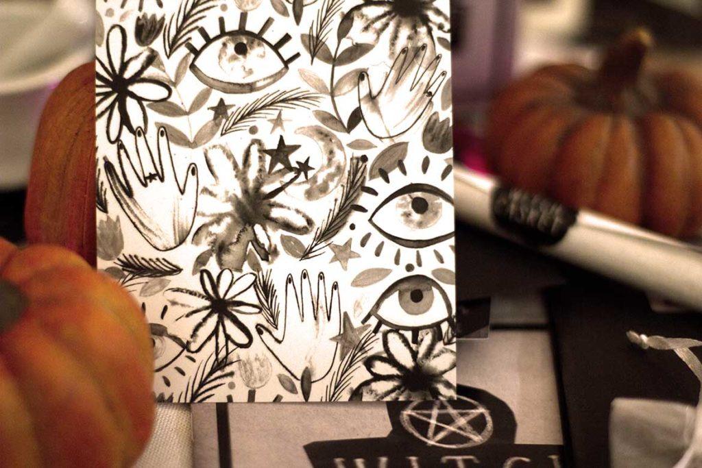 Witch Casket card