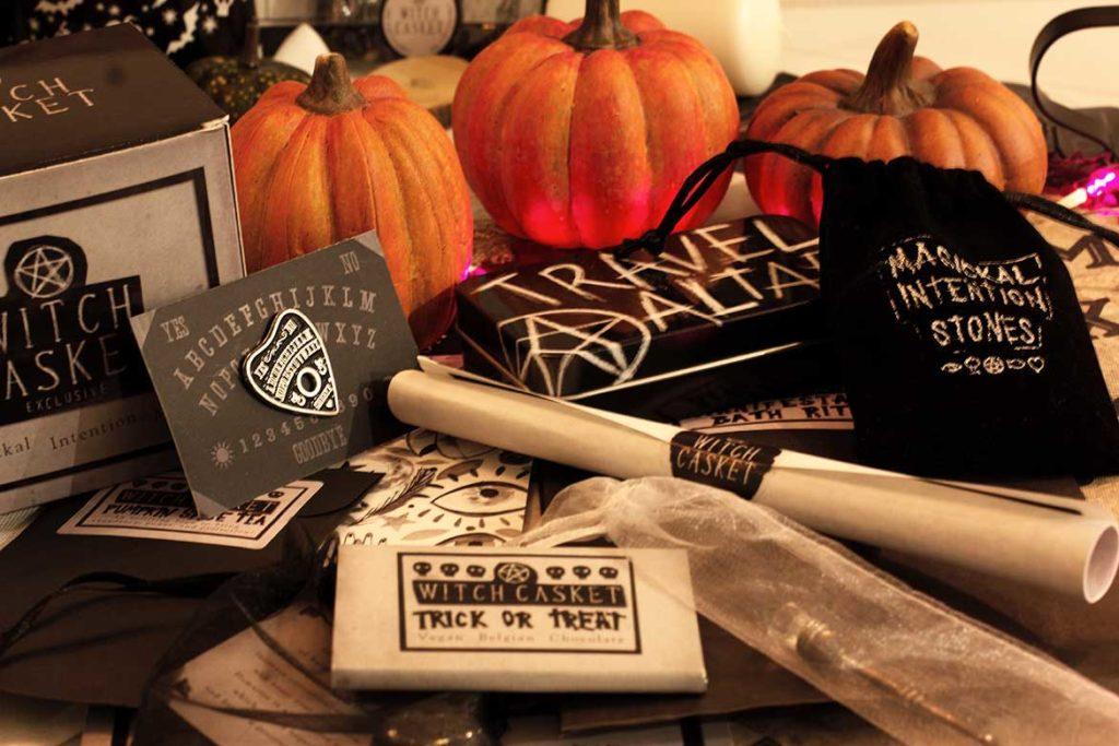 Contenu de la Witch casket October 2020