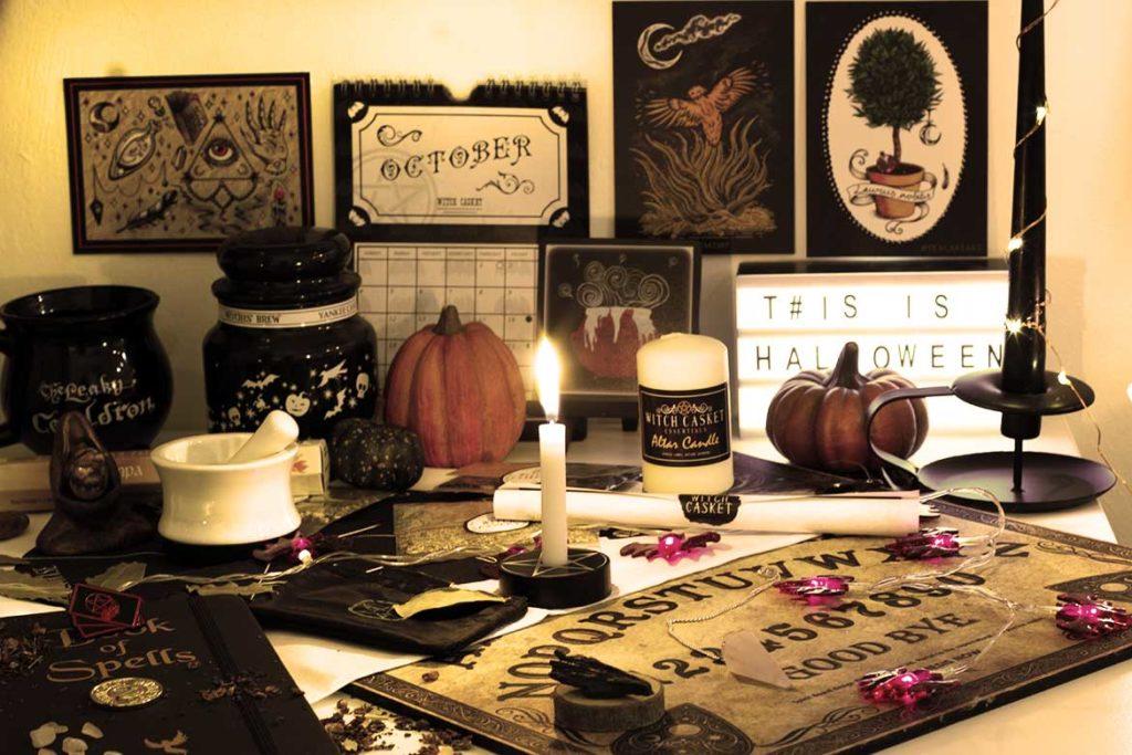 Witch Casket box sorcière