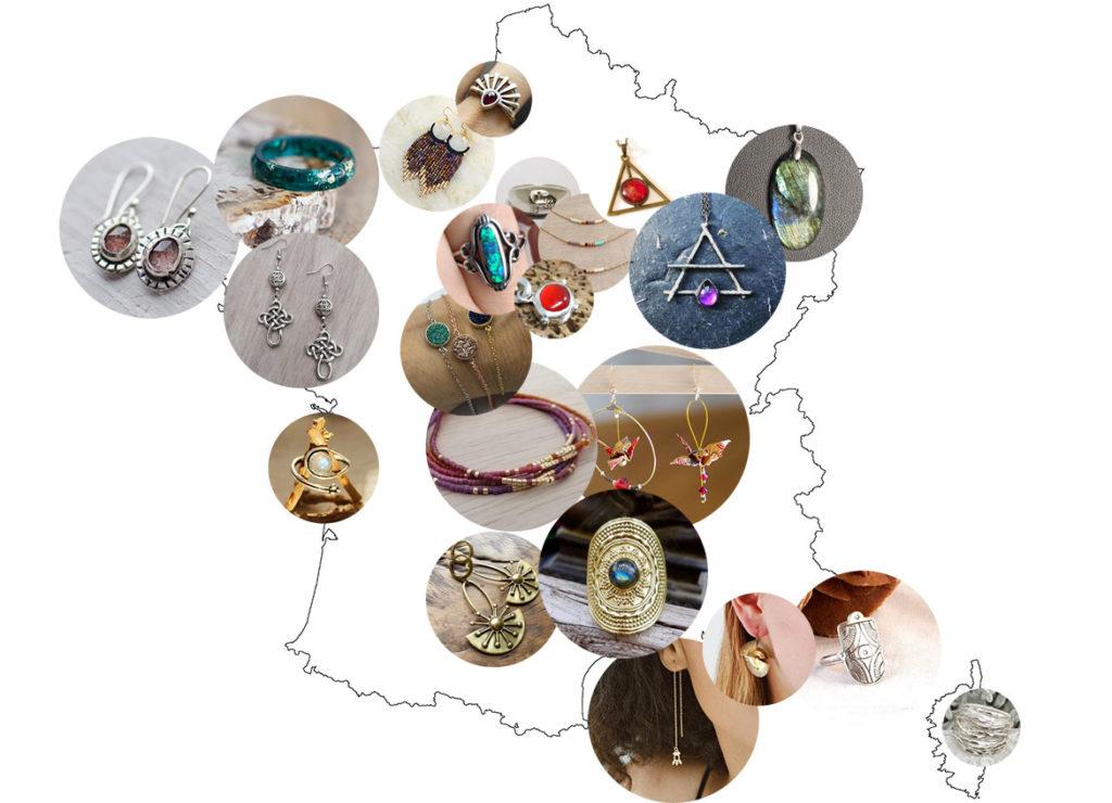 Bijoux de créateurs France Originaux Idée cadeau