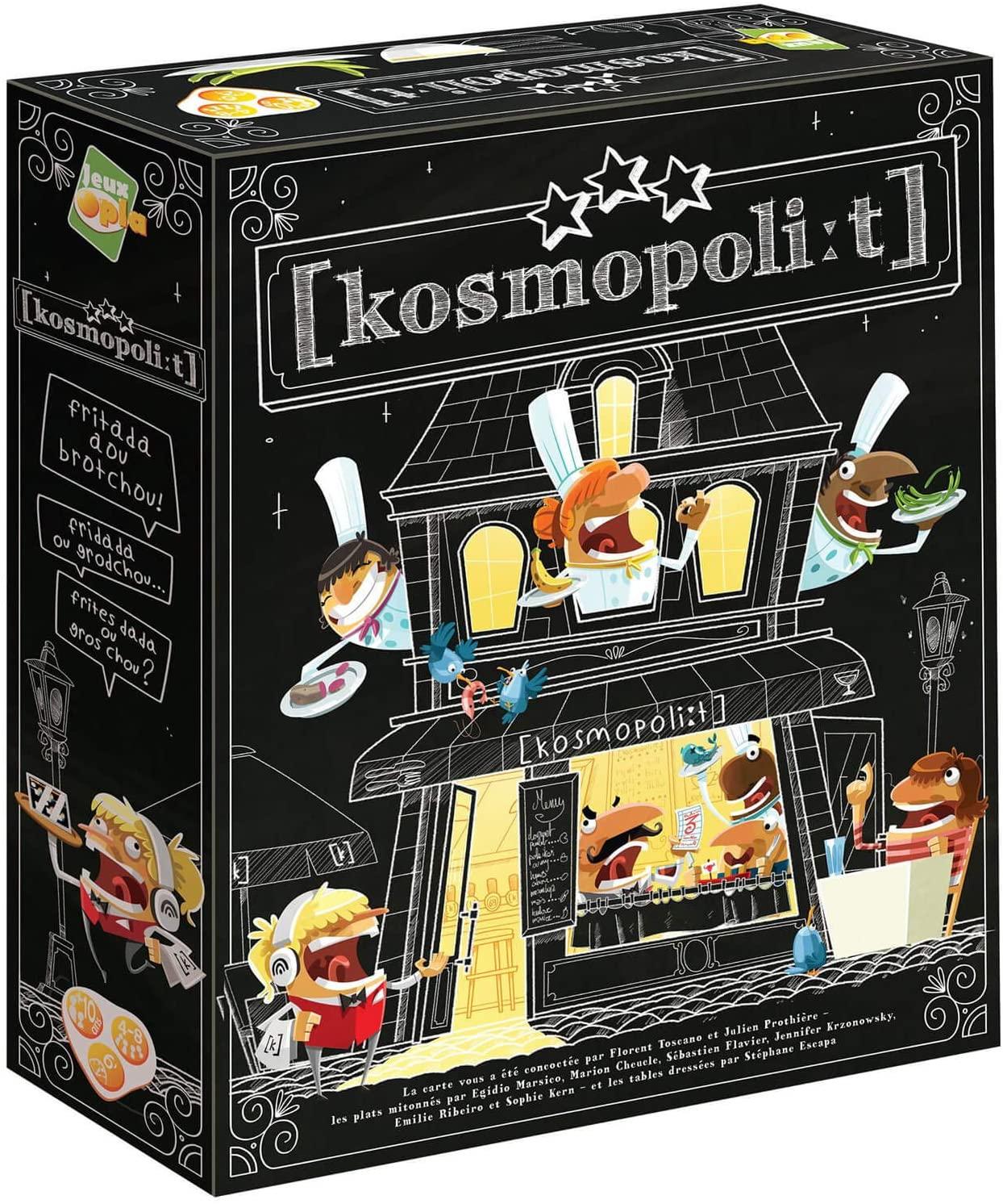 Kosmopolit: Jeux de société en famille