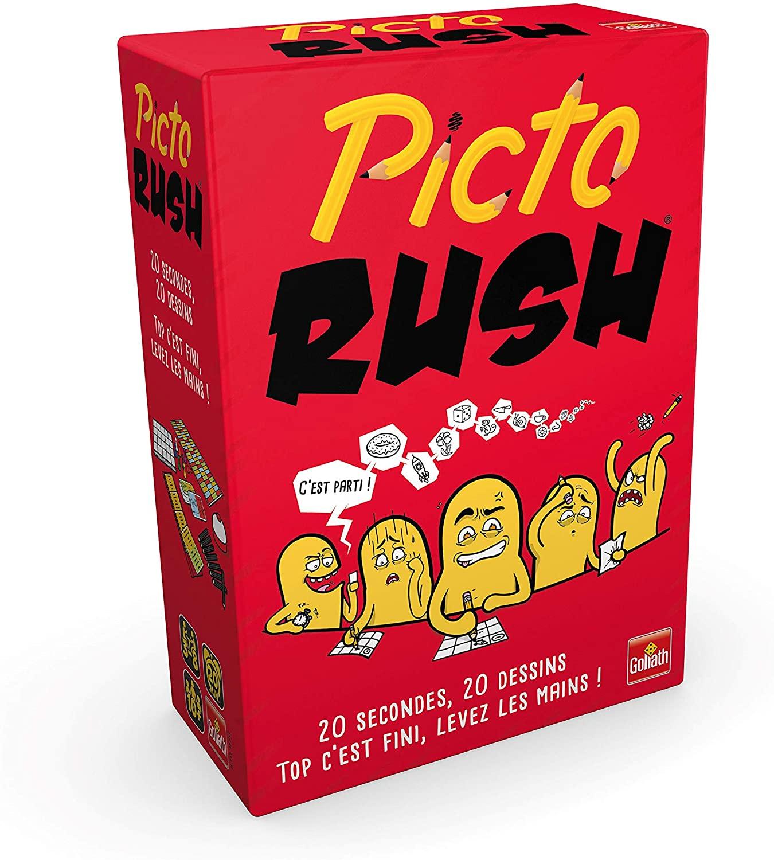 Jeux de société en famille Picto rush jeu de dessin