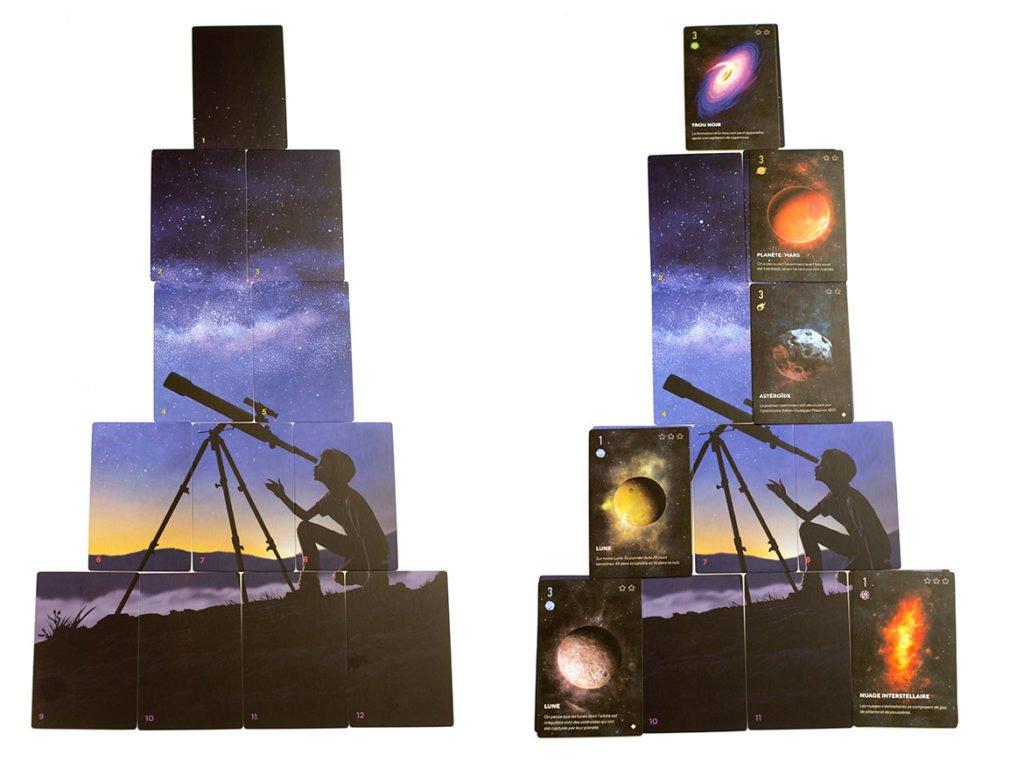 Stellar jeu de société astronomie