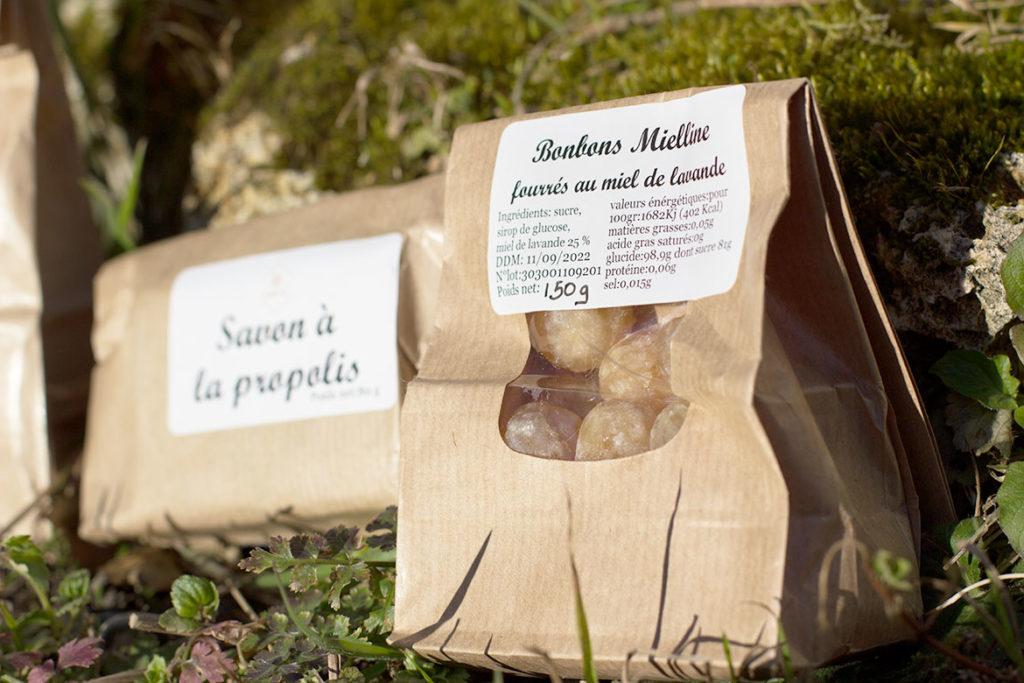 Abeille Box -bonbons au miel de lavande