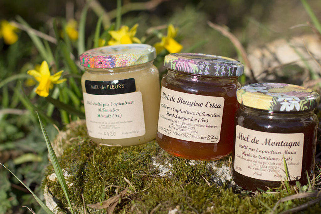 Abeille Box - 3 pots de miel