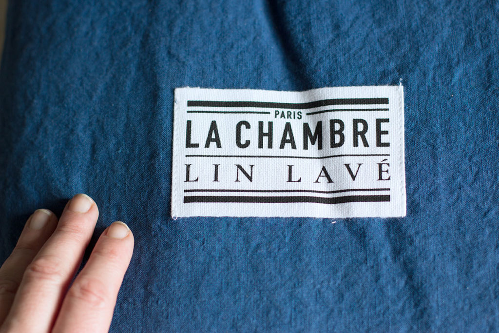 Parure Lit en lin lavé La Chambre Paris