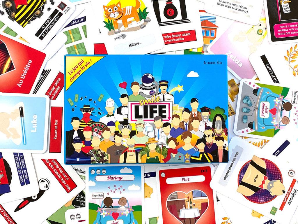Smile Life jeu de cartes