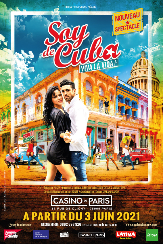 Soy de cuba Comédie musicale Affiche Casino de Paris